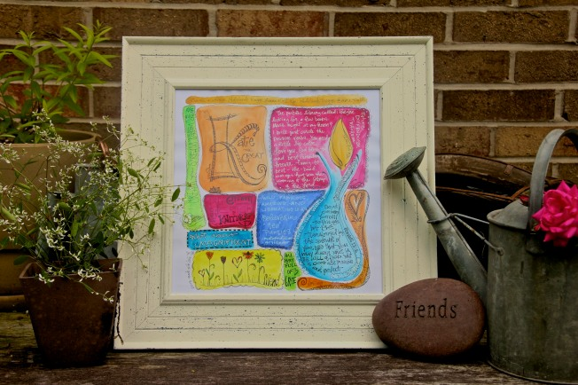 Personalized Watercolor & Ink www.1Arthouse.wordpress.com