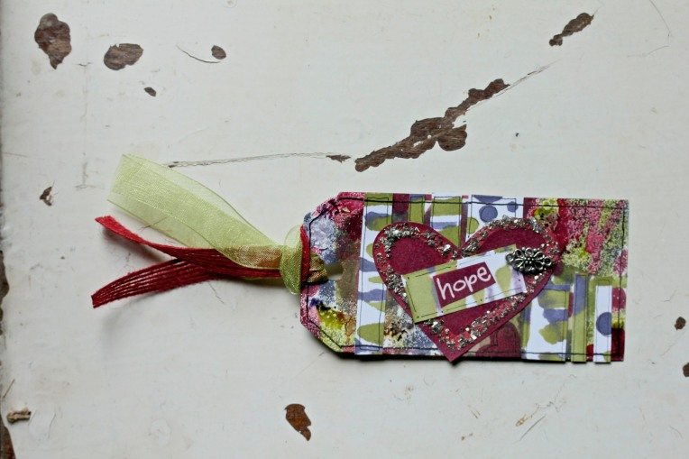 Alcohol Ink Tag Tutorial