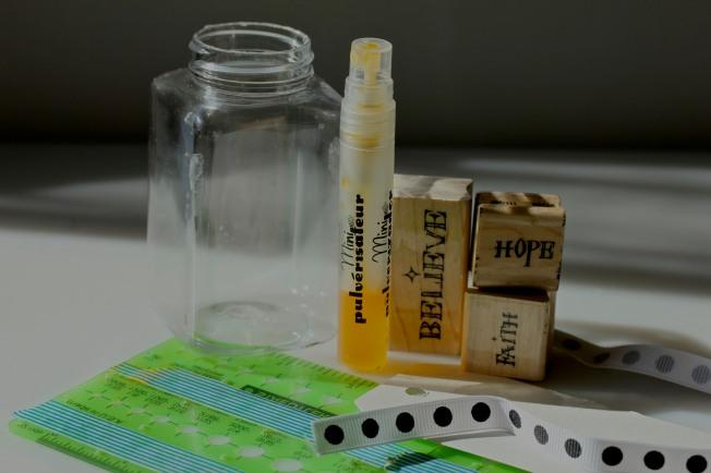 Quick Storage Jar Repurpose