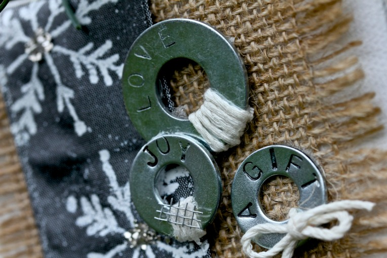 Christmas in June: Easy Washer Ornament