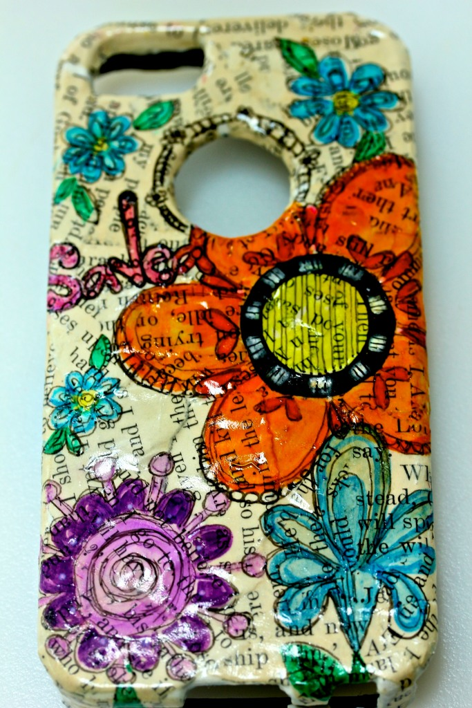 Mixed Media iphone Case