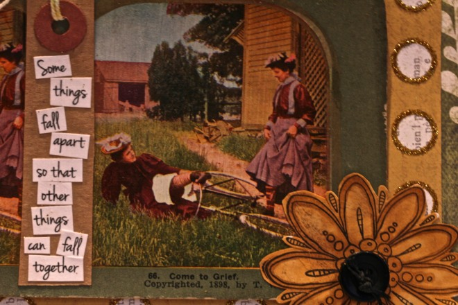 Antique Stereo View Card