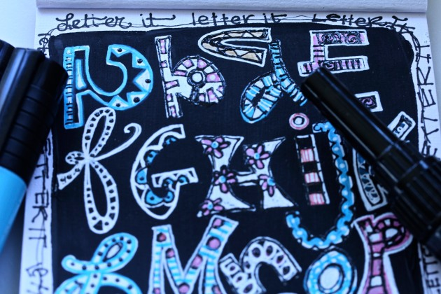 Alphadoodle Do : inspired by Joanne Sharpe:)