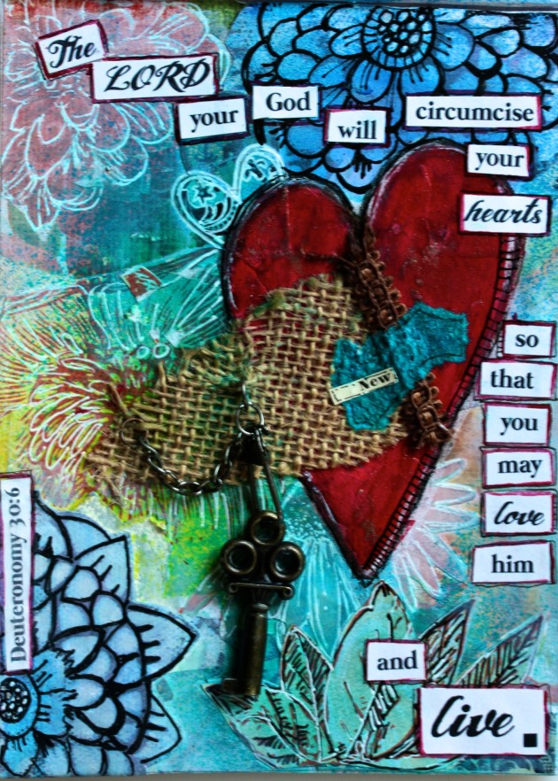 A new Heart...Journal Page
