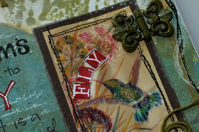 Frog Dog July Mixed Media Kit Project