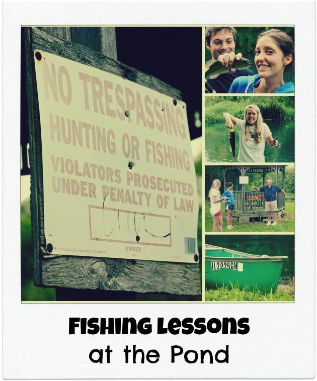Down on the Farm Fishing Lessons