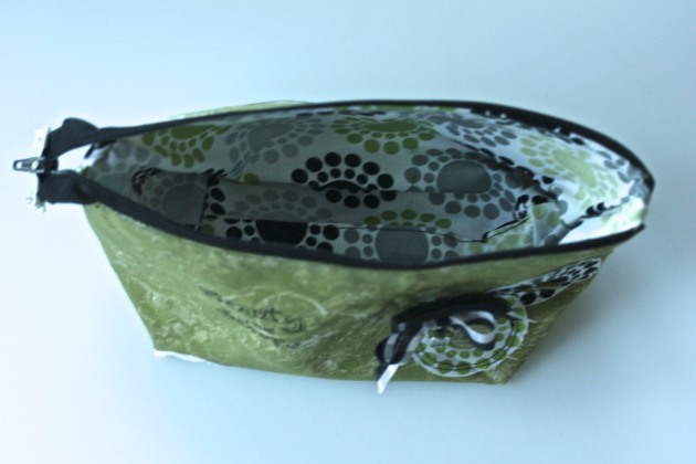 Gelli Plate Printed Zippered Bag