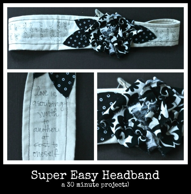 Super Easy 30 Minute Headband