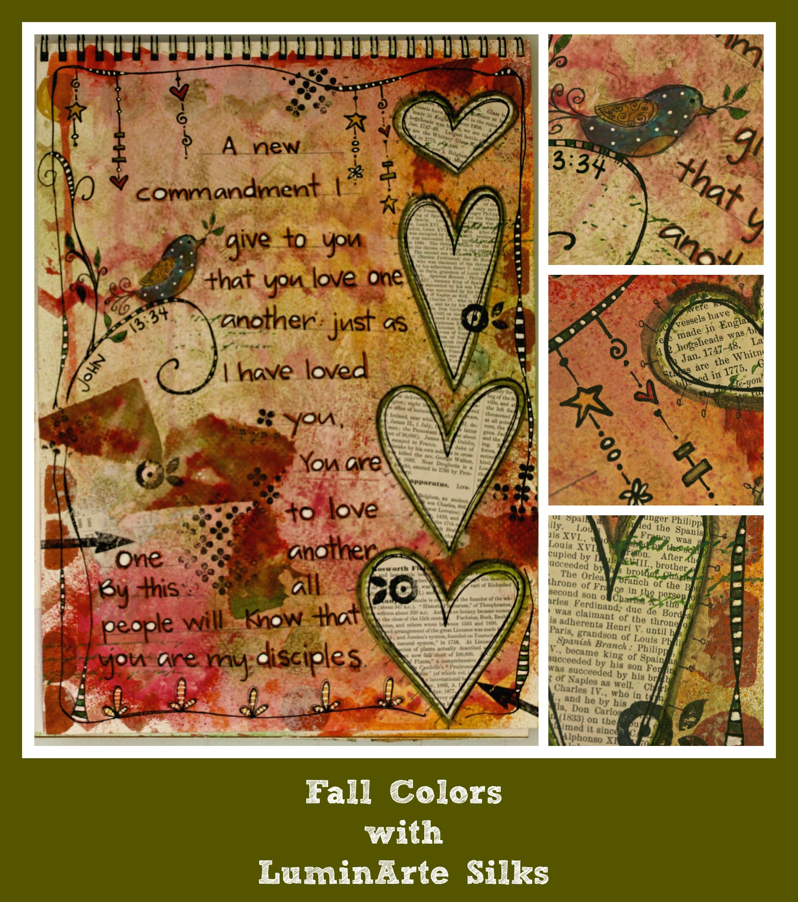Fall Colors w/LuminArte Silks