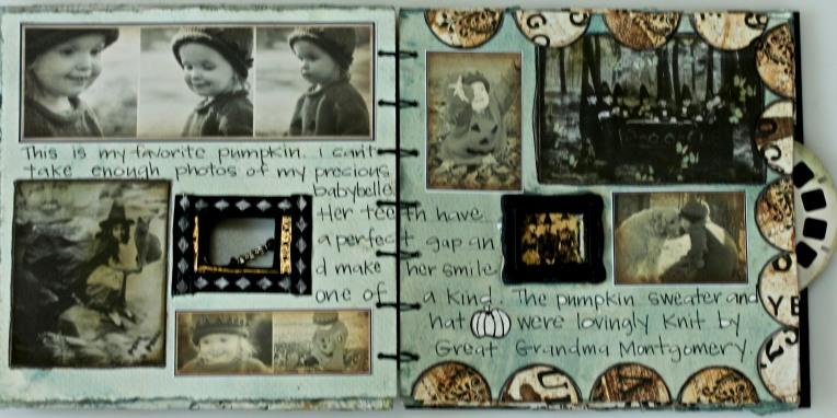 October Journal Tutorial @ Frogdogstudio.com