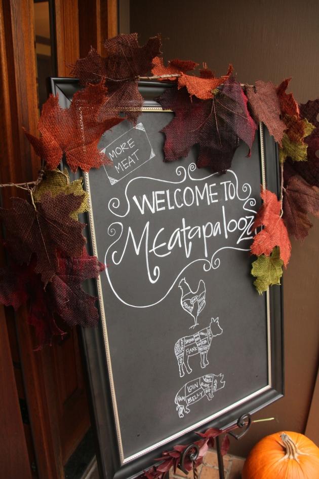 Meatapalooza : a manly birthday party
