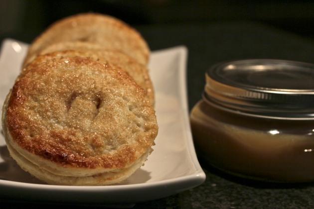 Apple Hand Pies w/Salted Caramel Sauce