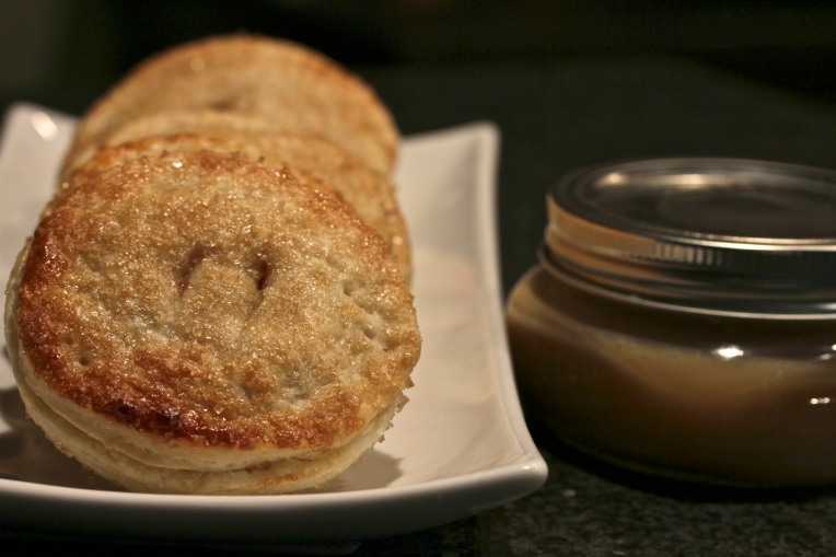 Apple Hand Pies w/Salted Caramel Sauce