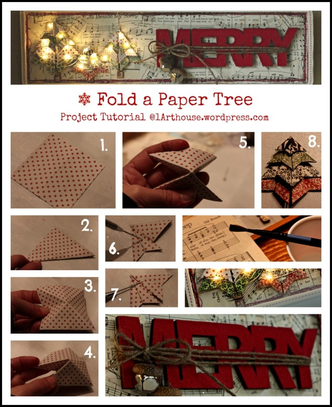 Paper Tree / Wall Hanging Tutorial