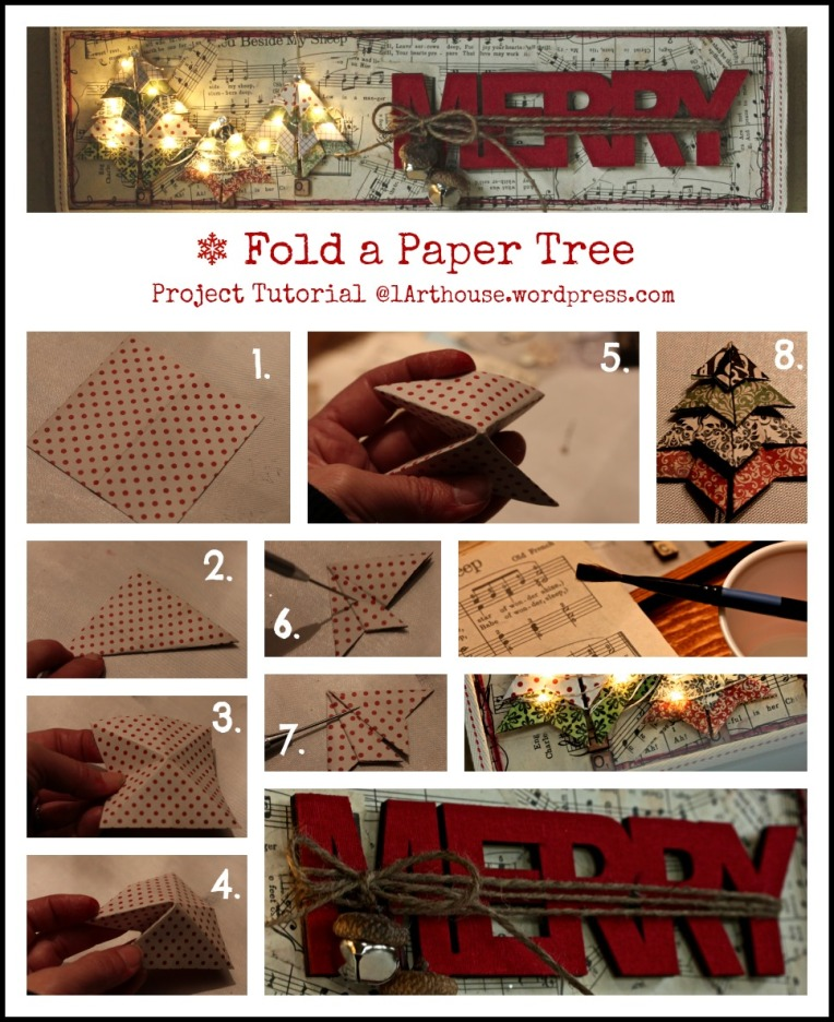Paper Tree / Wall Hanging Tutorial
