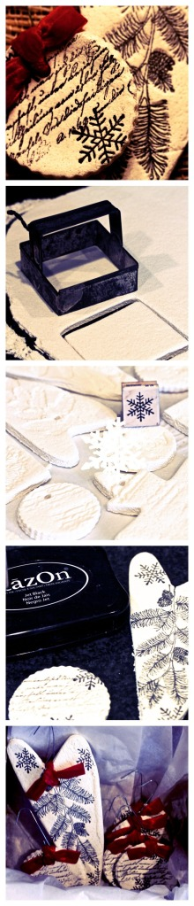 Salt Dough Ornament Tutorial
