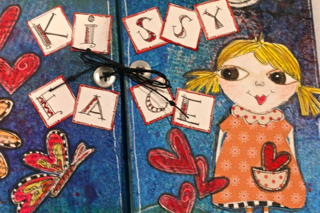 Children's Mixed Media Story Book