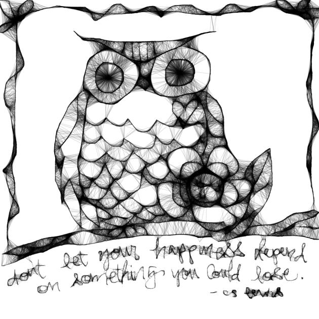 Scribbler:owl
