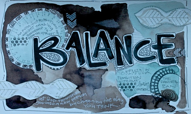 Balance Watercolor/Sue Carroll