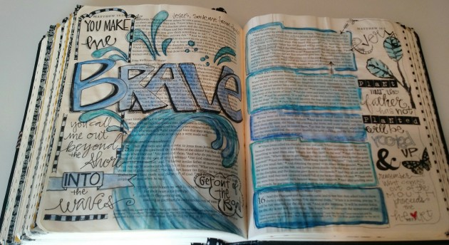 BAJ:Bible Pages: BRAVE: Matt 15: Sue Carroll