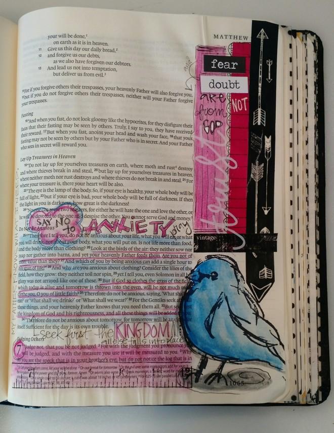 BAJ:Biblepages:Do Not Be Anxious:Sue Carroll: