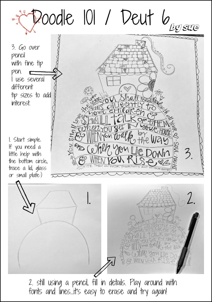 BAJ:Doodle 101: Deut 6: PM:Sue Carroll