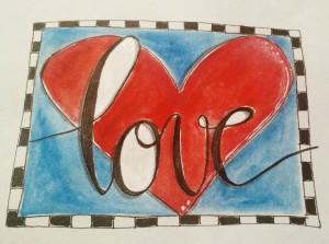 BAJ:Doodle 101: LOVE:Color:Sue Carroll
