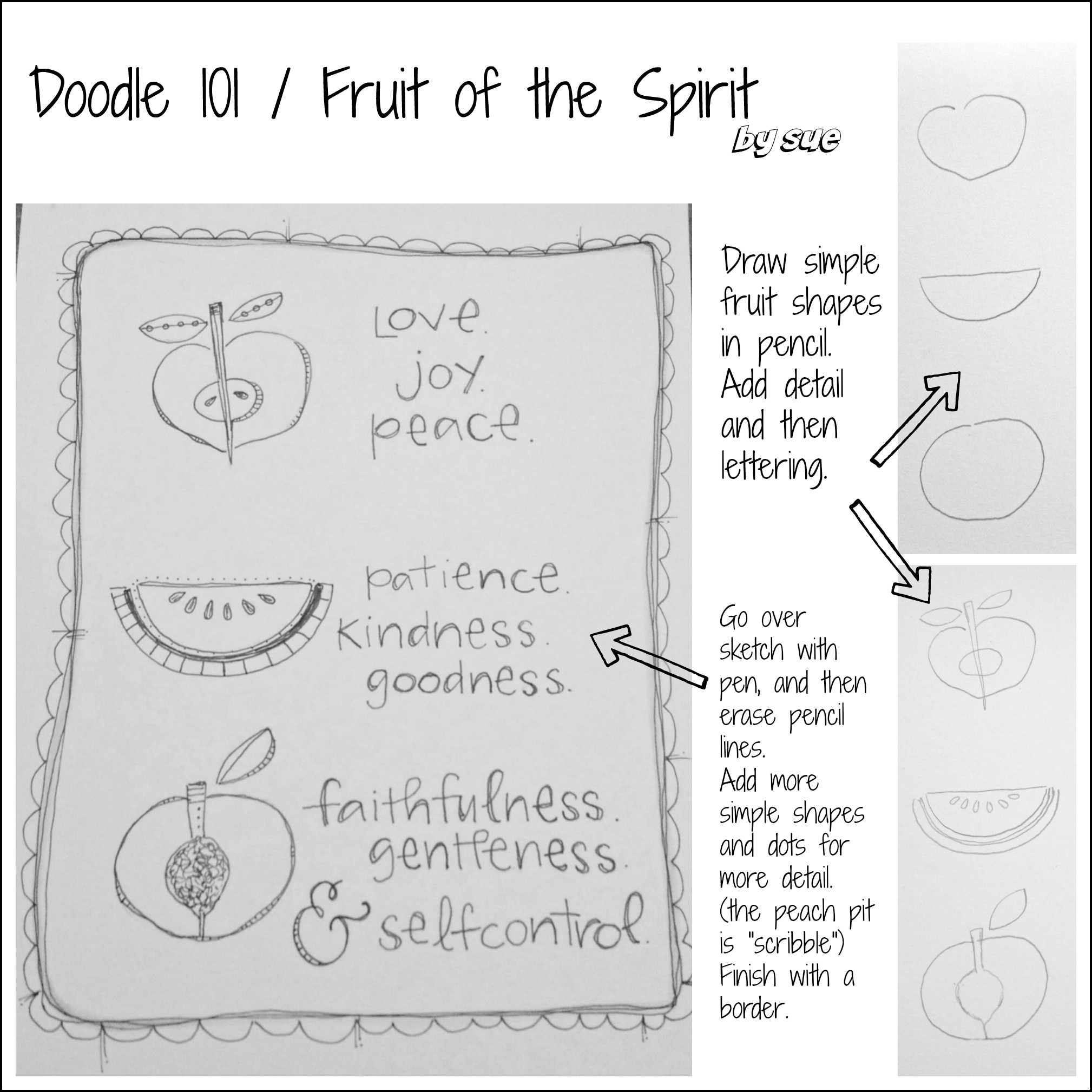 BAJ:Doodle 101:Fruit of the Spirit:PM:Sue Carroll