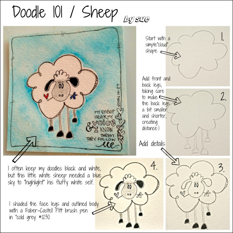 BAJ:Doodle101:Sheep:Sue Carroll:PM