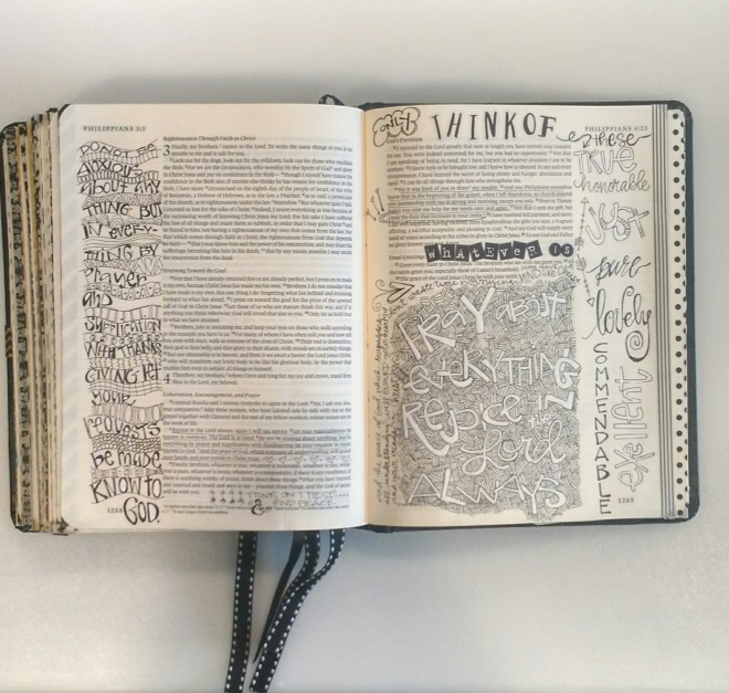 Bible Art Journaling/ Sue Carroll