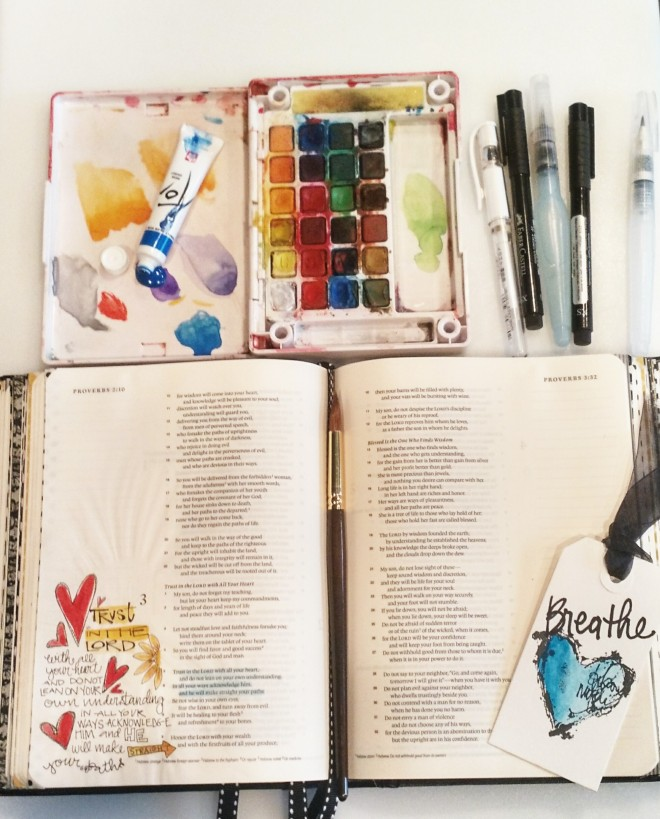 Bible Art Journaling:promopic