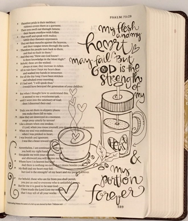Bible Page/ Sue Carroll