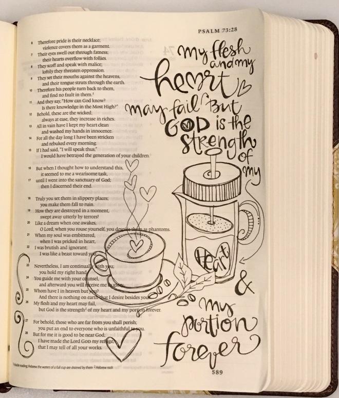 Bible Page/ Sue Carroll