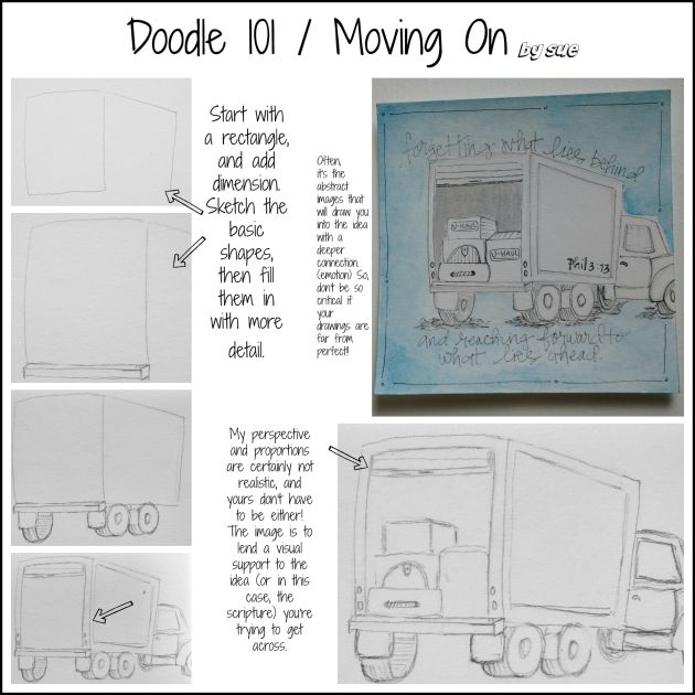 BAJ:Doodle101:Moving On : Sue Carroll: