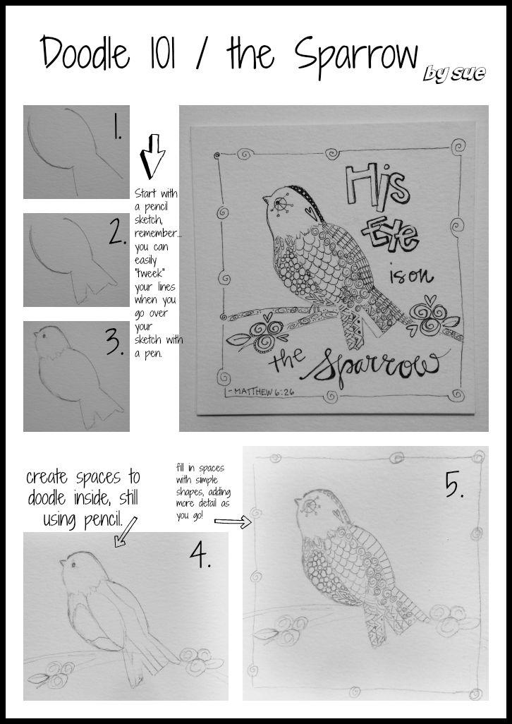 Doodle101/Sparrow/Sue Carroll