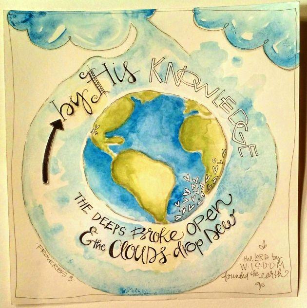 BAJ/Doodle/Proverbswatercolor/Sue Carroll