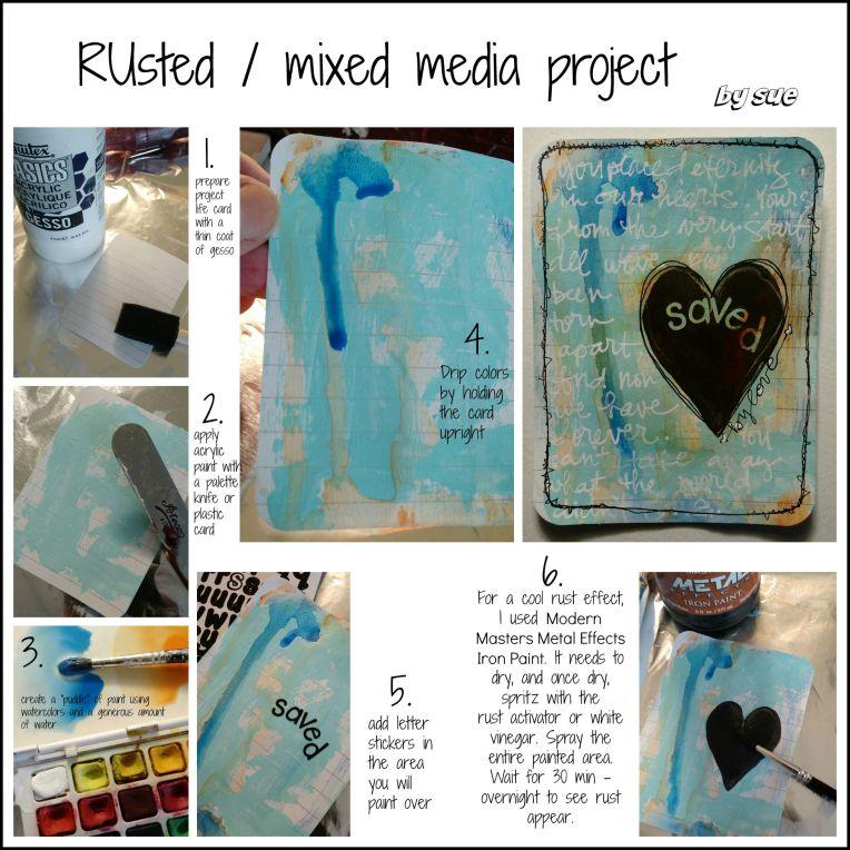 BAJ:Rustedprojectlifecard:mixedmedia:Sue Carroll