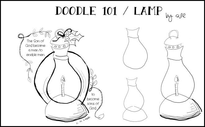 Doodle101:Lamp:SueCarroll:2:pm