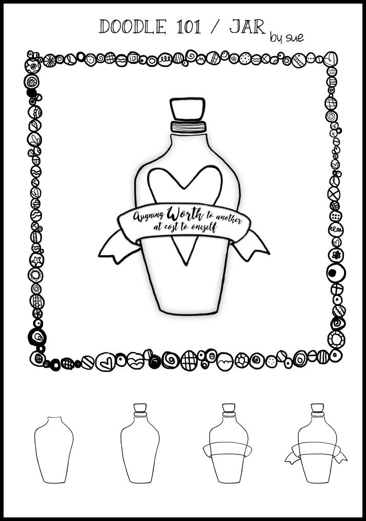 Doodle101:Jar:SueCarroll