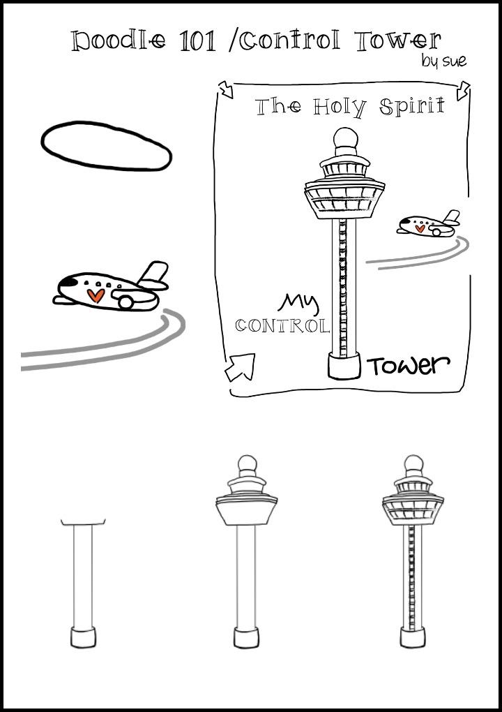 Doodle 101: Control Tower/Sue Carroll