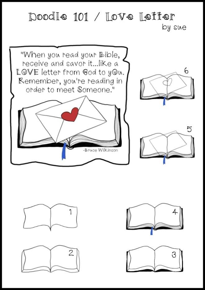 Doodle101:LoveLetter:SueCarroll