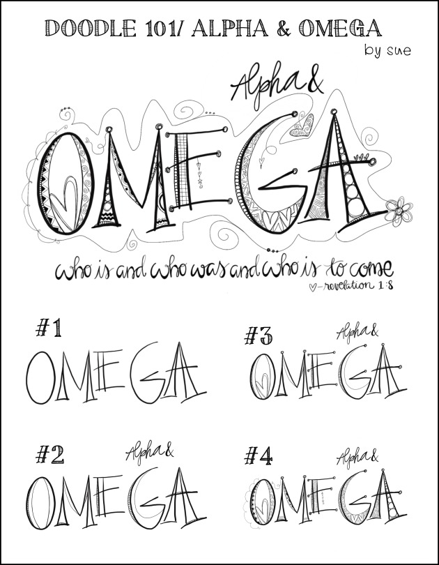 Doodle101/Alpha&Omega/Sue Carroll