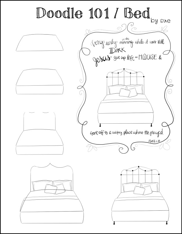 Doodle101:Bed:SueCarroll