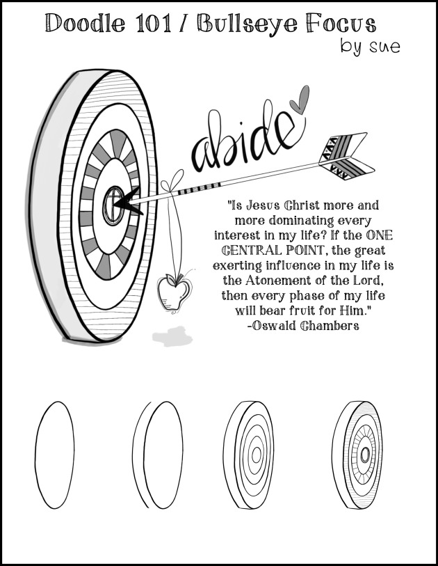 Doodle101:Bullseyefocus:SueCarroll