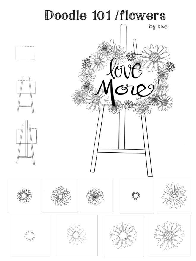Doodle 101/flowers/Suecarroll
