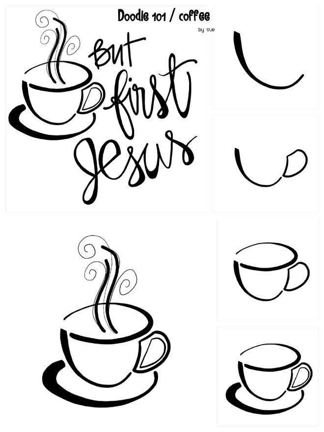 Doodle 101/ Coffee/Sue Carroll
