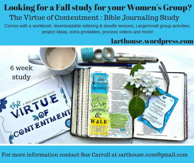Bible Journaling Study/ Sue Carroll