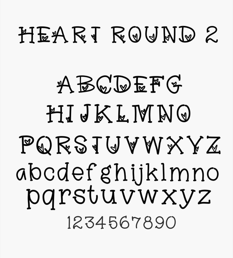 Free Font / Sue Carroll