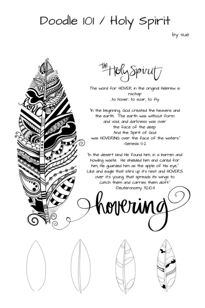 Doodle 101/HolySpirit/Hovering/SueCarroll