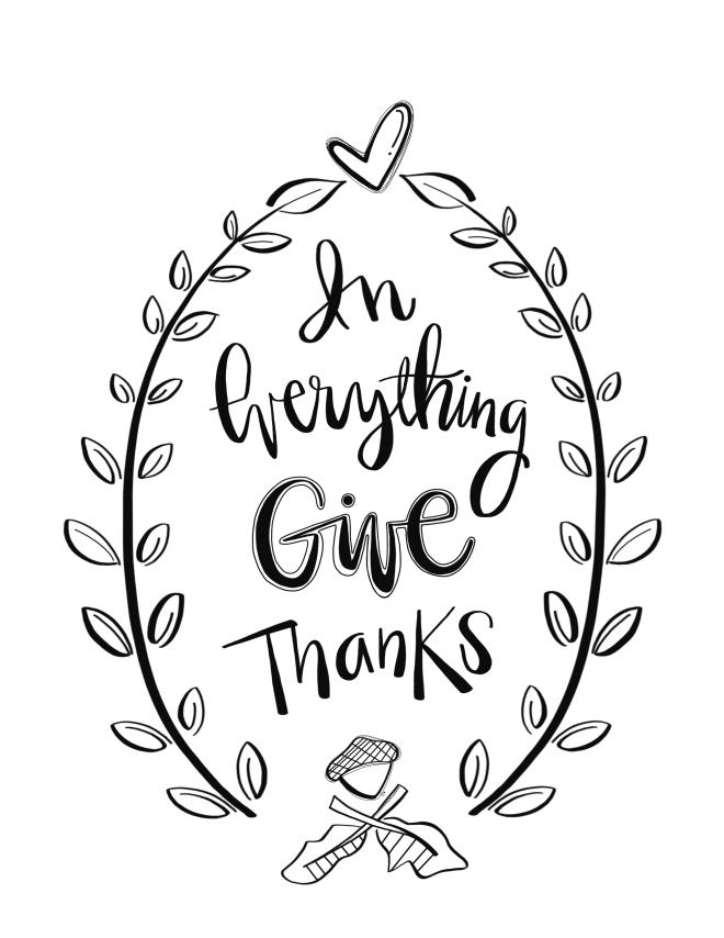 Give thanks/SueCarroll